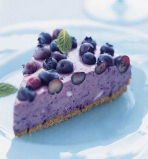 Blueberry Ice Box Pie