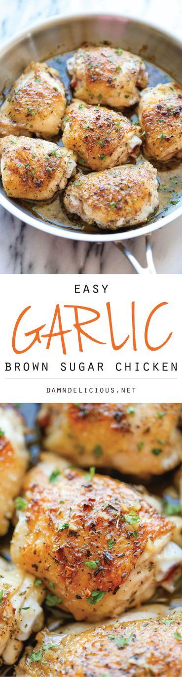 Garlic Brown Sugar Chicken 2