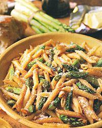 Penne Roasted Asparagus